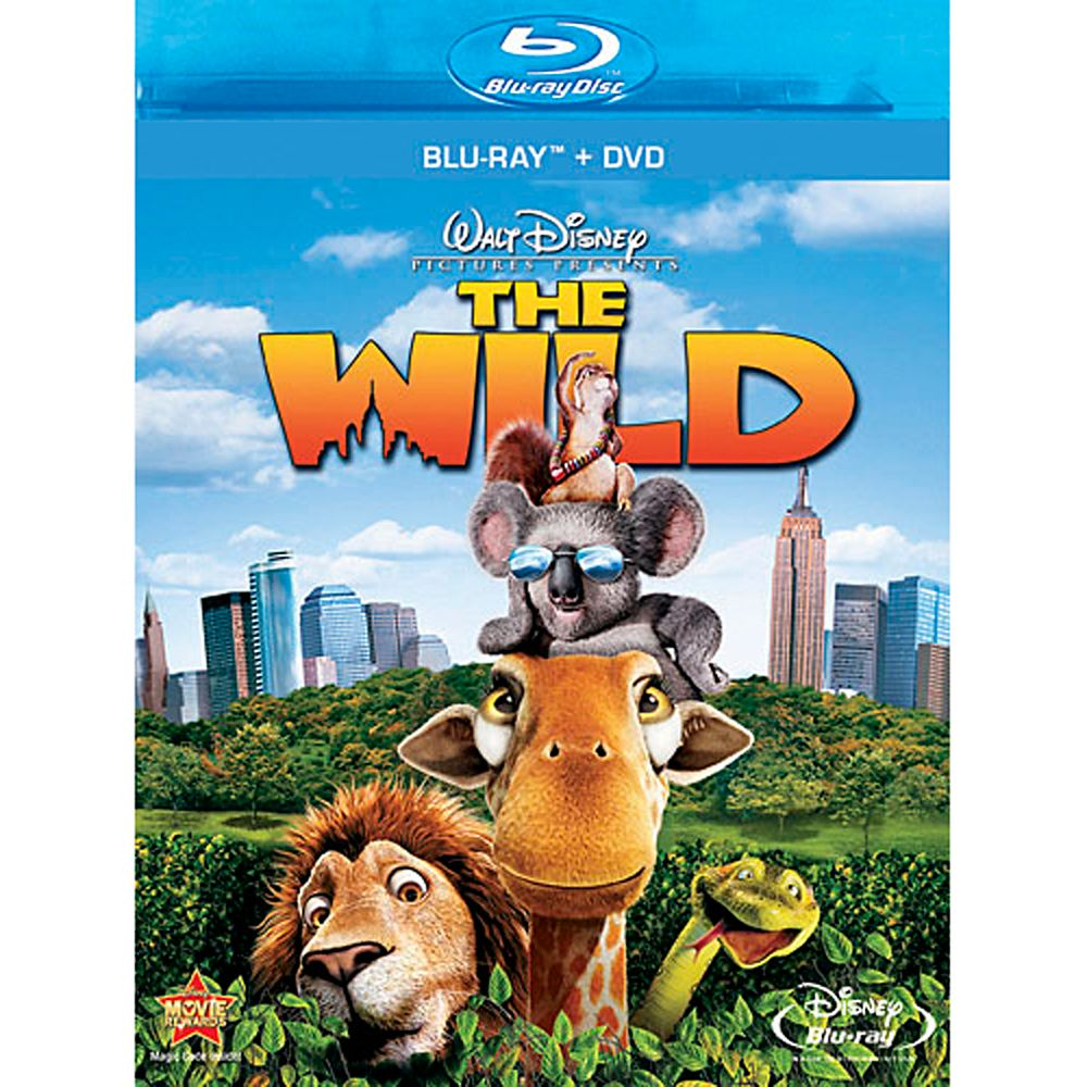 The Wild  2-Disc Combo Pack Official shopDisney