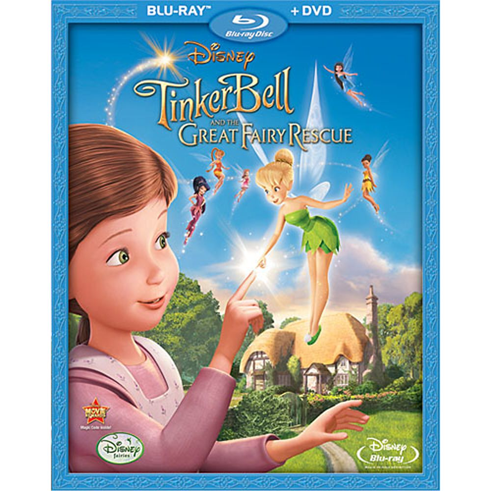 Tinker Bell and the Great Fairy Rescue – 2-Disc Combo Pack