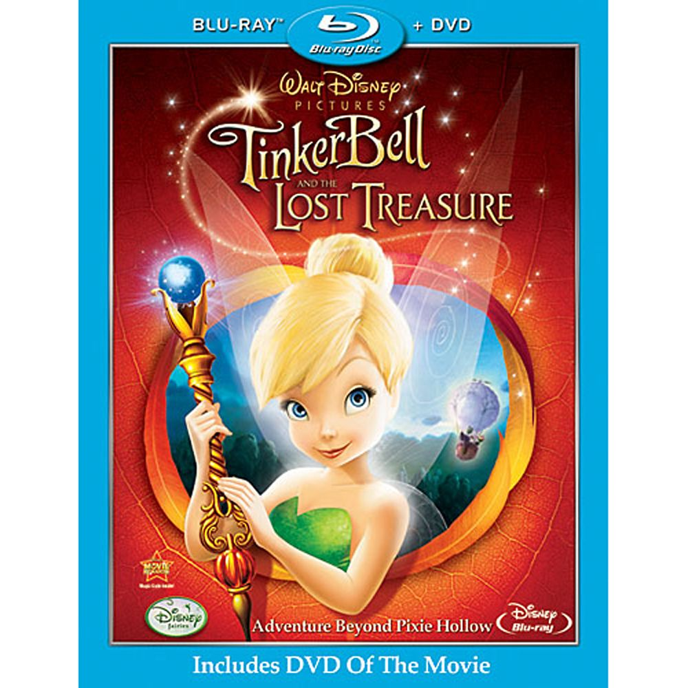 Tinker Bell and the Lost Treasure – 2-Disc Combo Pack