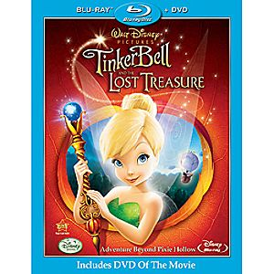 Tinker Bell and the Lost Treasure - 2-Disc Combo Pack 7745055550680P