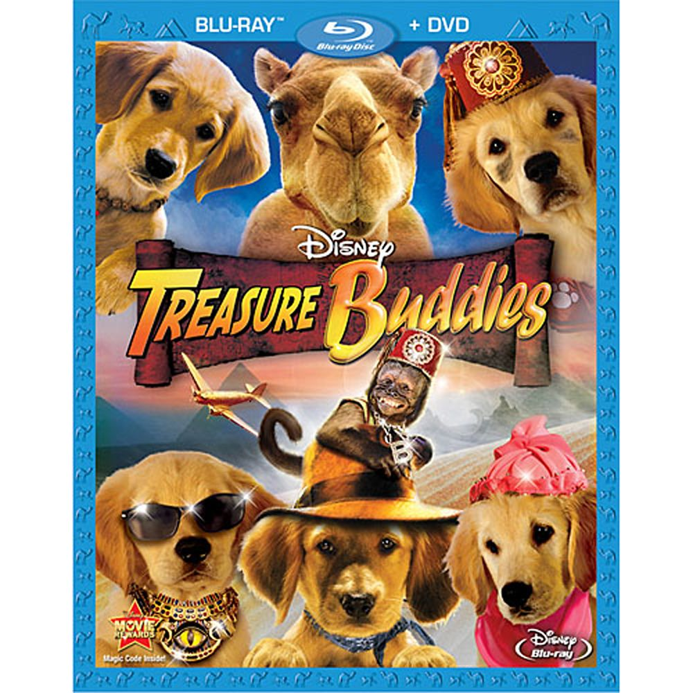 Treasure Buddies – 2-Disc Combo Pack