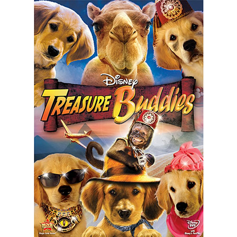 Treasure Buddies DVD Official shopDisney