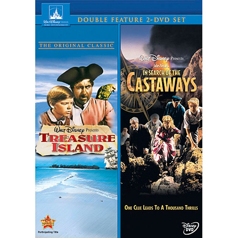 Treasure Island & In Search of the Castaways  2-Movie Set Official shopDisney