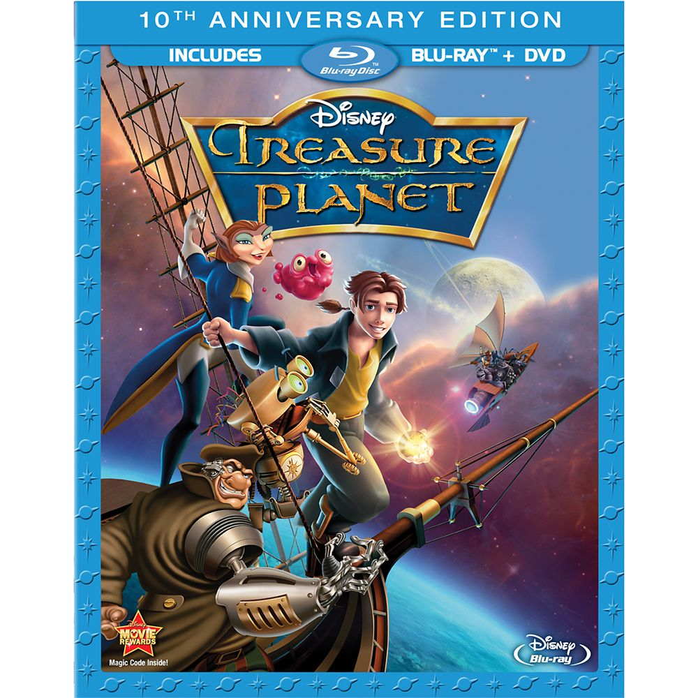 Treasure Planet  2-Disc Combo Pack Official shopDisney
