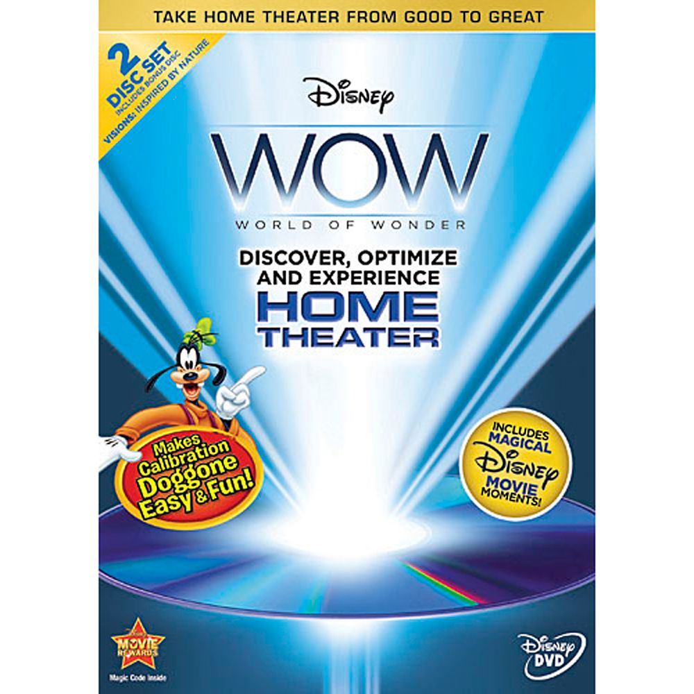 World of Wonder Optimization  2-Disc DVD Official shopDisney