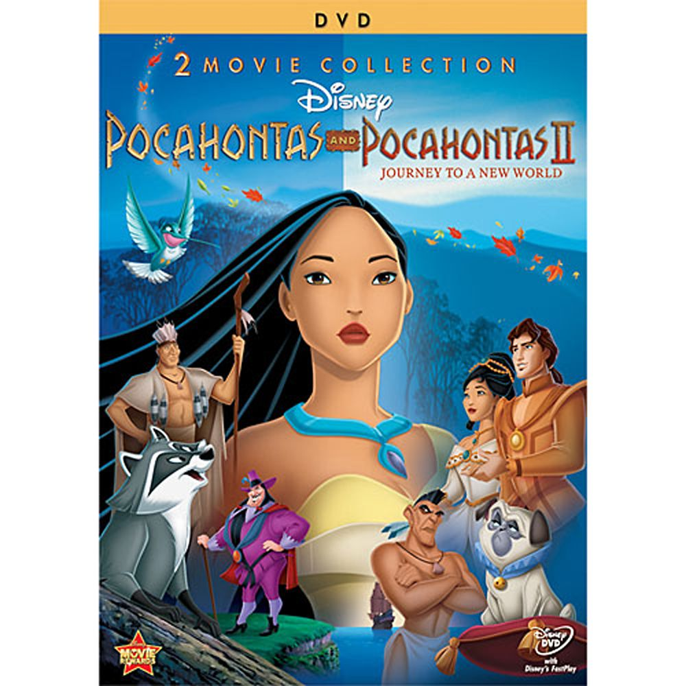 Pocahontas and Pocahontas II DVD – 2-Disc Set