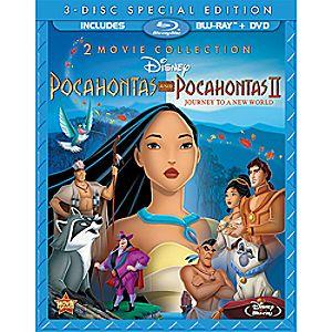 Pocahontas and Pocahontas II – 3-Disc Combo Pack