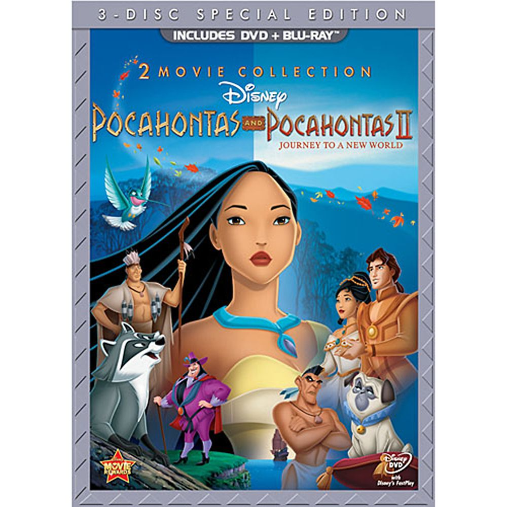 Pocahontas and Pocahontas II 3-Disc Set