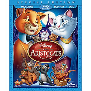 The Aristocats - 2-Disc Combo Pack - Blu-ray Packaging 7745055550768P