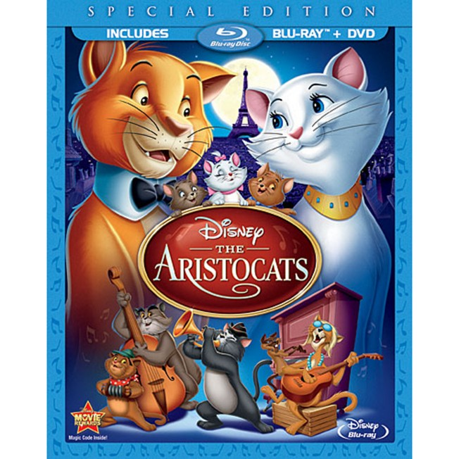 The Aristocats – 2-Disc Combo Pack – Blu-ray Packaging