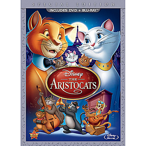 The Aristocats - 2-Disc Combo Pack - DVD Packaging