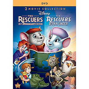 The Rescuers and The Rescuers Down Under DVD 7745055550770P