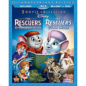 The Rescuers and The Rescuers Down Under - 3-Disc Set 7745055550771P