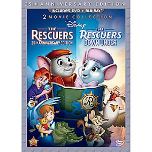 The Rescuers and The Rescuers Down Under - 3-Disc Set 7745055550772P