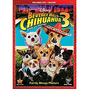 Beverly Hills Chihuahua 3: Viva La Fiesta! Blu-ray and DVD Combo Pack 7745055550775P