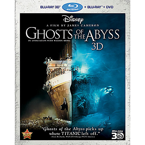 Ghosts of the Abyss 3D + Blu-ray + DVD