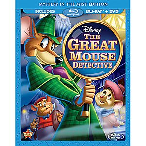 The Great Mouse Detective Blu-ray and DVD Special Edition Combo 7745055550778P