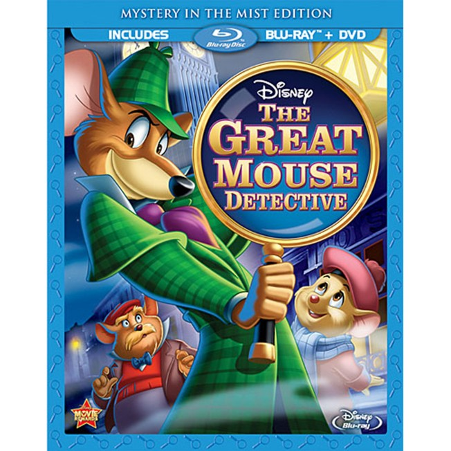 The Great Mouse Detective Blu-ray and DVD Special Edition Combo