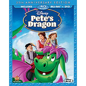 Pete's Dragon Blu-ray and DVD Combo Pack - 35th Anniversary Edition 7745055550786P
