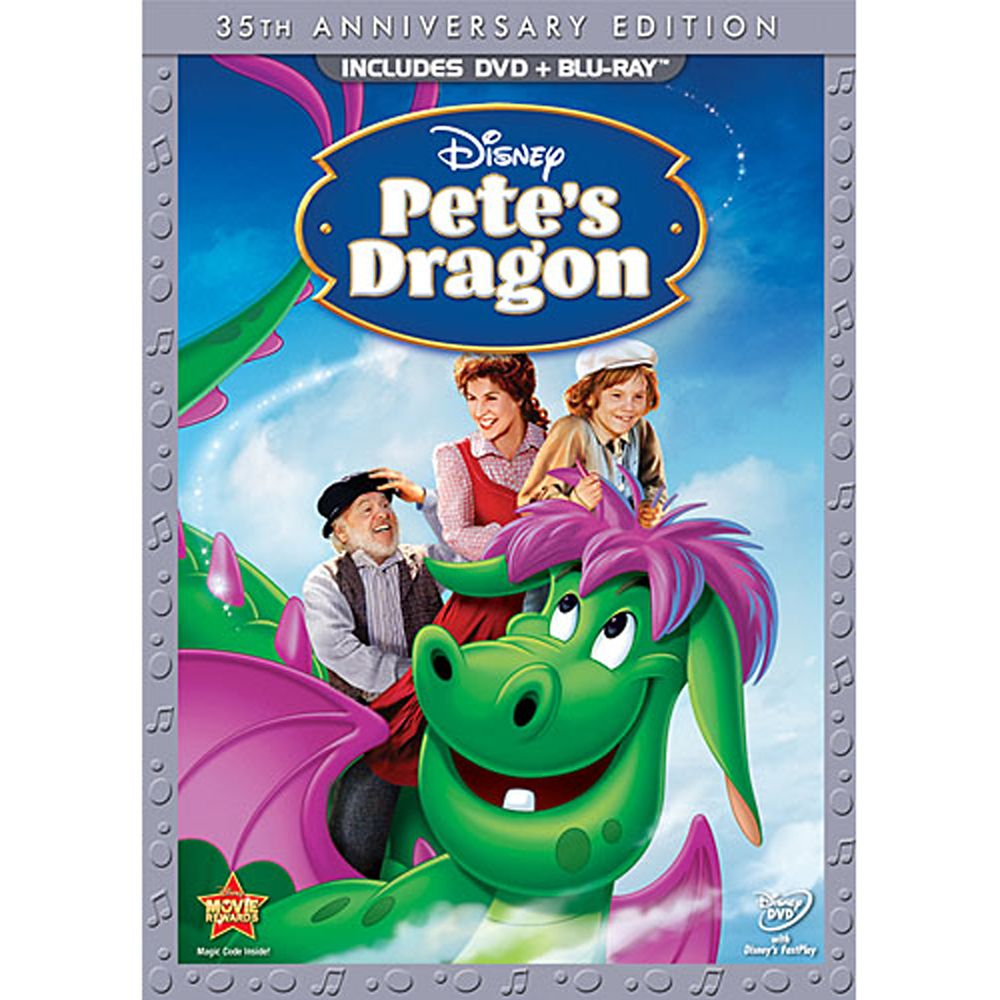 Pete's Dragon DVD and Blu-ray Combo Pack – 35th Anniversary Edition