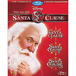 The Santa Clause: 3-Movie Blu-ray Collection 7745055550790P