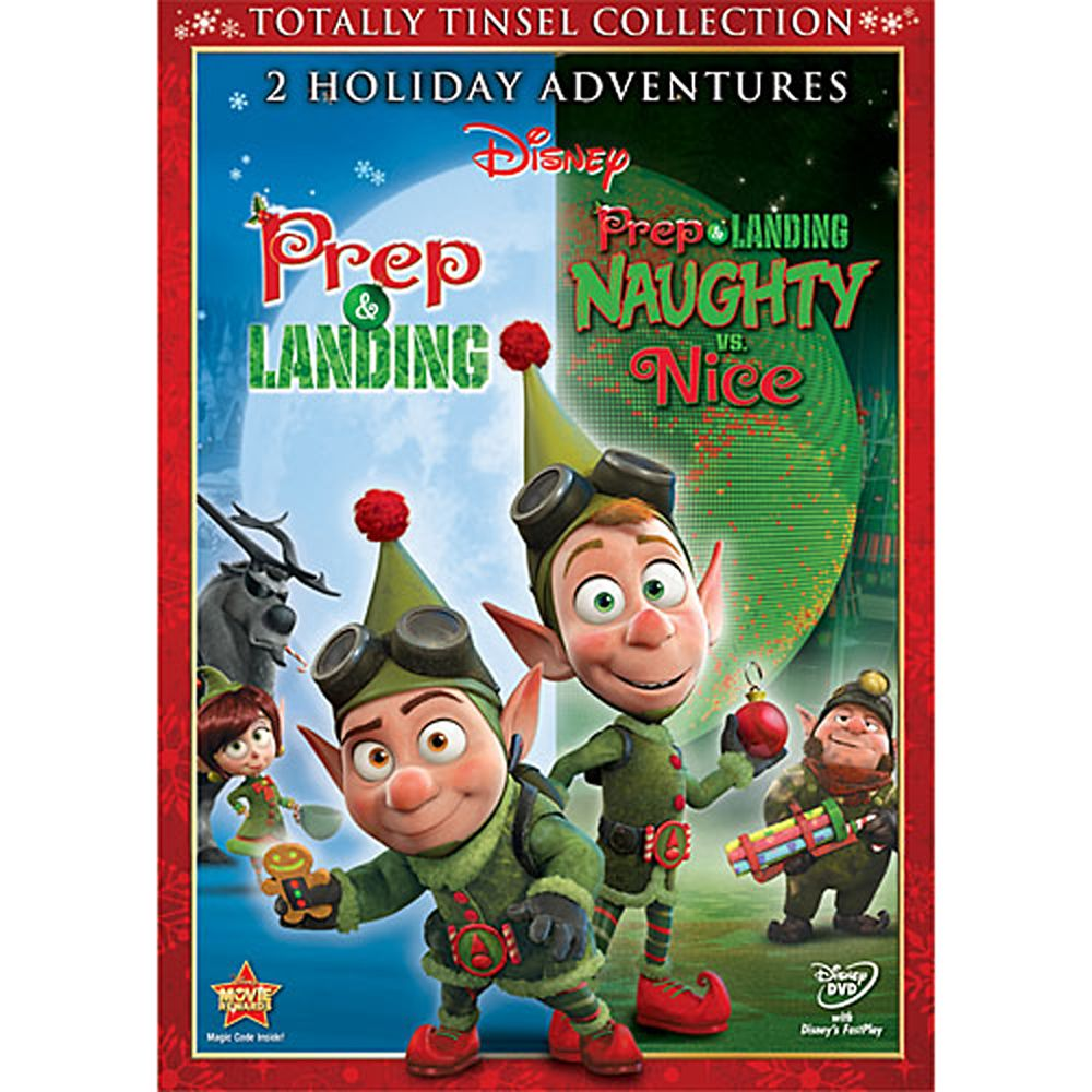 Prep & Landing: Naughty vs. Nice DVD Official shopDisney