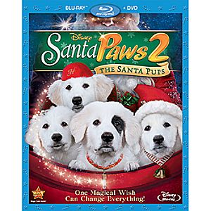 Santa Paws 2: The Santa Pups Blu-ray and DVD Combo Pack 7745055550803P