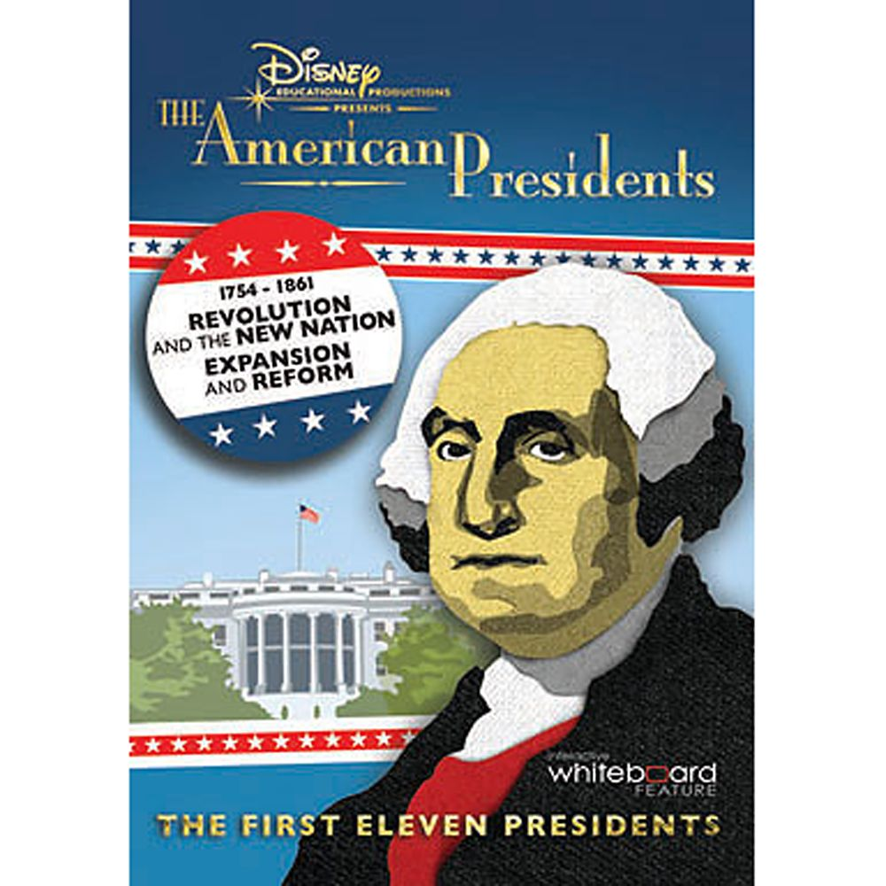 The American Presidents Volume 1 DVD Official shopDisney