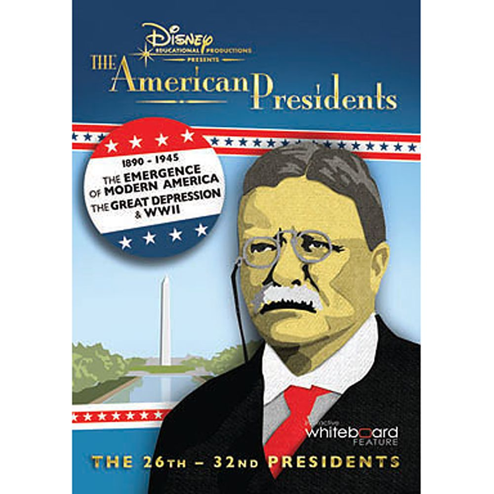 The American Presidents Volume 3 DVD Official shopDisney
