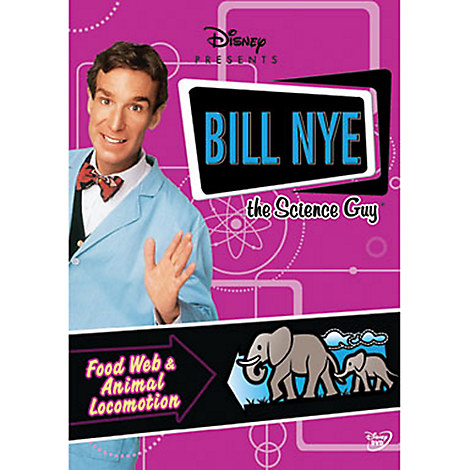 Bill Nye The Science Guy: Food Web & Animal Locomotion DVD