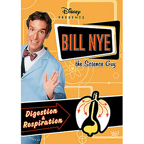 Bill Nye The Science Guy: Digestion & Respiration DVD