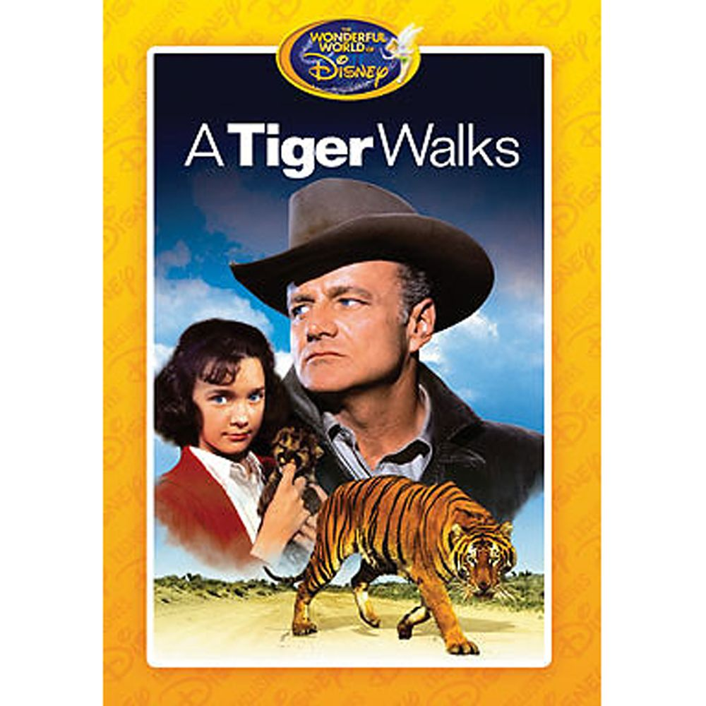 A Tiger Walks DVD Official shopDisney