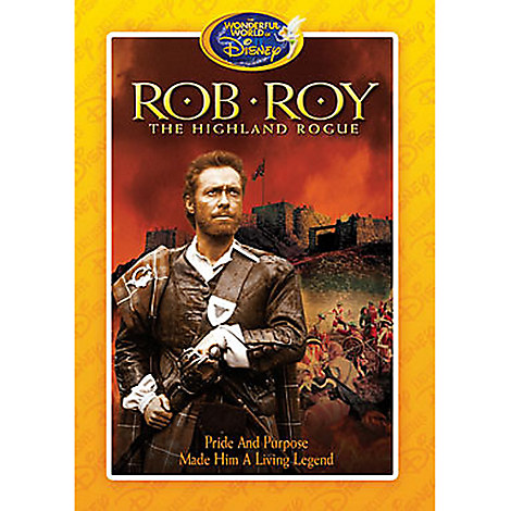 Rob Roy, The Highland Rogue DVD