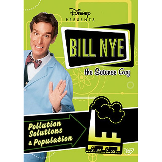 Bill Nye The Science Guy: Pollution Solutions & Population DVD
