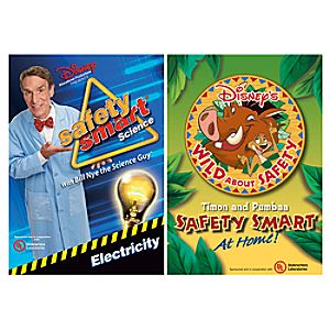 Bill Nye / Timon and Pumbaa Safety Smart DVD 2-Pack