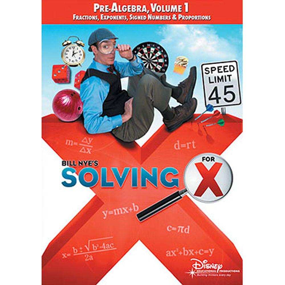 Bill Nye's Solving for X: Pre-Algebra, Volume 1 DVD