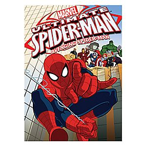 Ultimate Spider-Man: Avenging Spider-Man 2-Disc DVD 7745055550898P