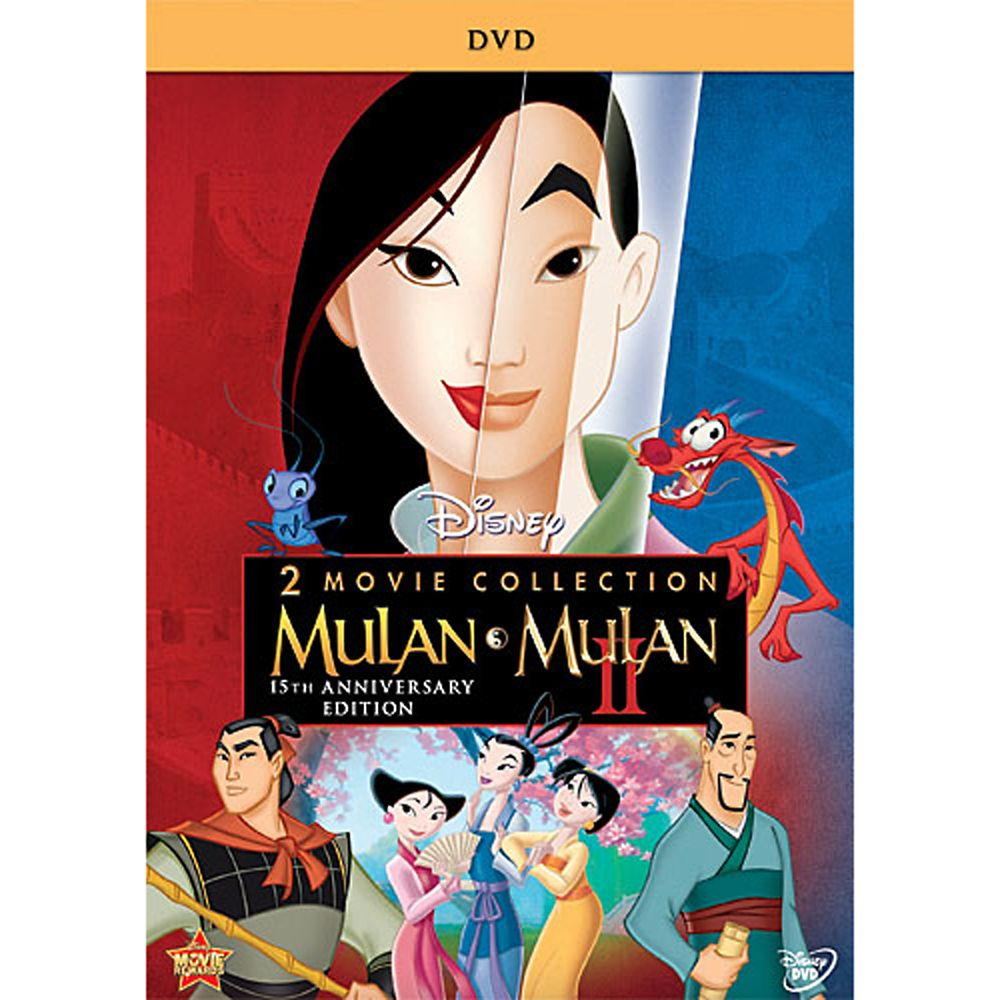 Mulan 15th Anniversary DVD