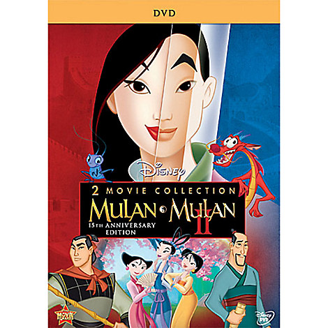 Mulan 15th Annniversary DVD
