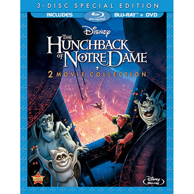 The Hunchback of Notre Dame Blu-ray and DVD Combo Pack