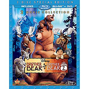 Brother Bear Blu-ray and DVD Combo Pack 7745055550908P