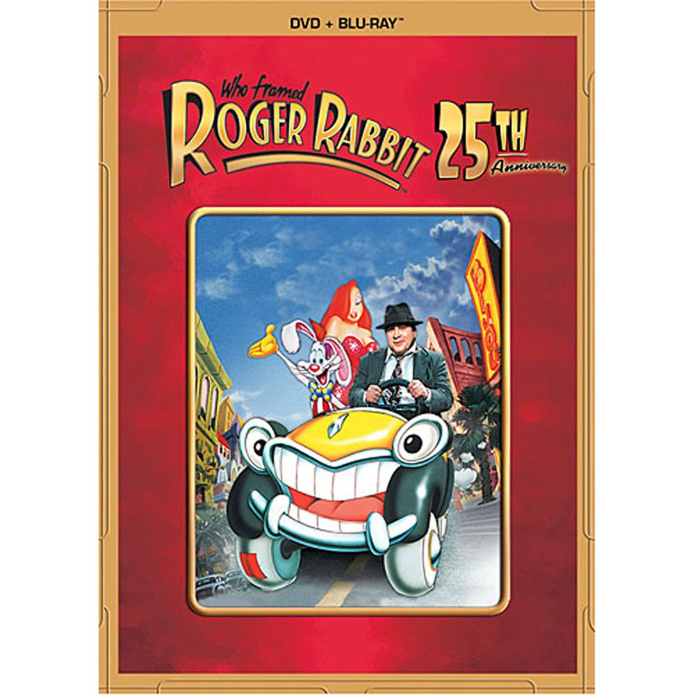 Who Framed Roger Rabbit 25th Anniversary DVD and Blu-ray Combo Pack