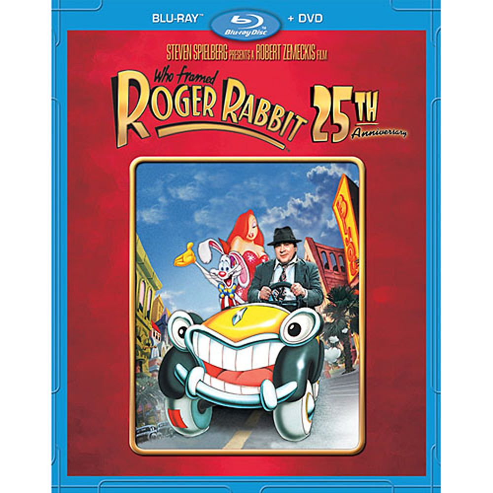 Who Framed Roger Rabbit 25th Anniversary Blu-ray and DVD Combo Pack