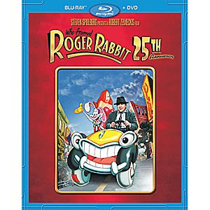 Who Framed Roger Rabbit 25th Anniversary Blu-ray and DVD Combo Pack 7745055550910P