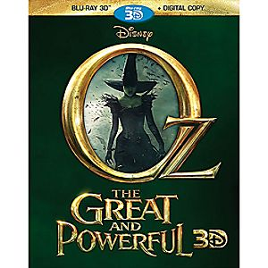Oz The Great and Powerful Blu-ray 3D