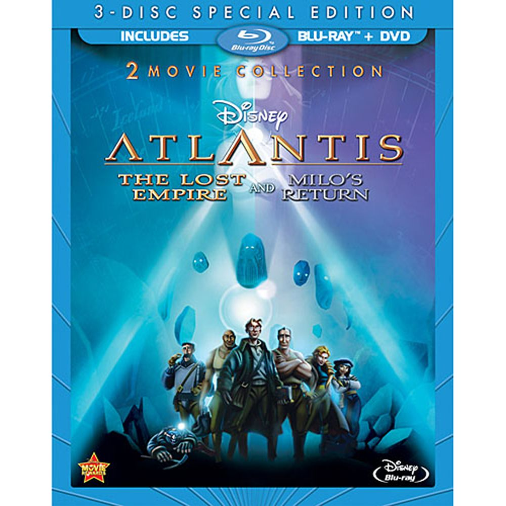 Atlantis: The Lost Empire 2-Movie Collection Official shopDisney