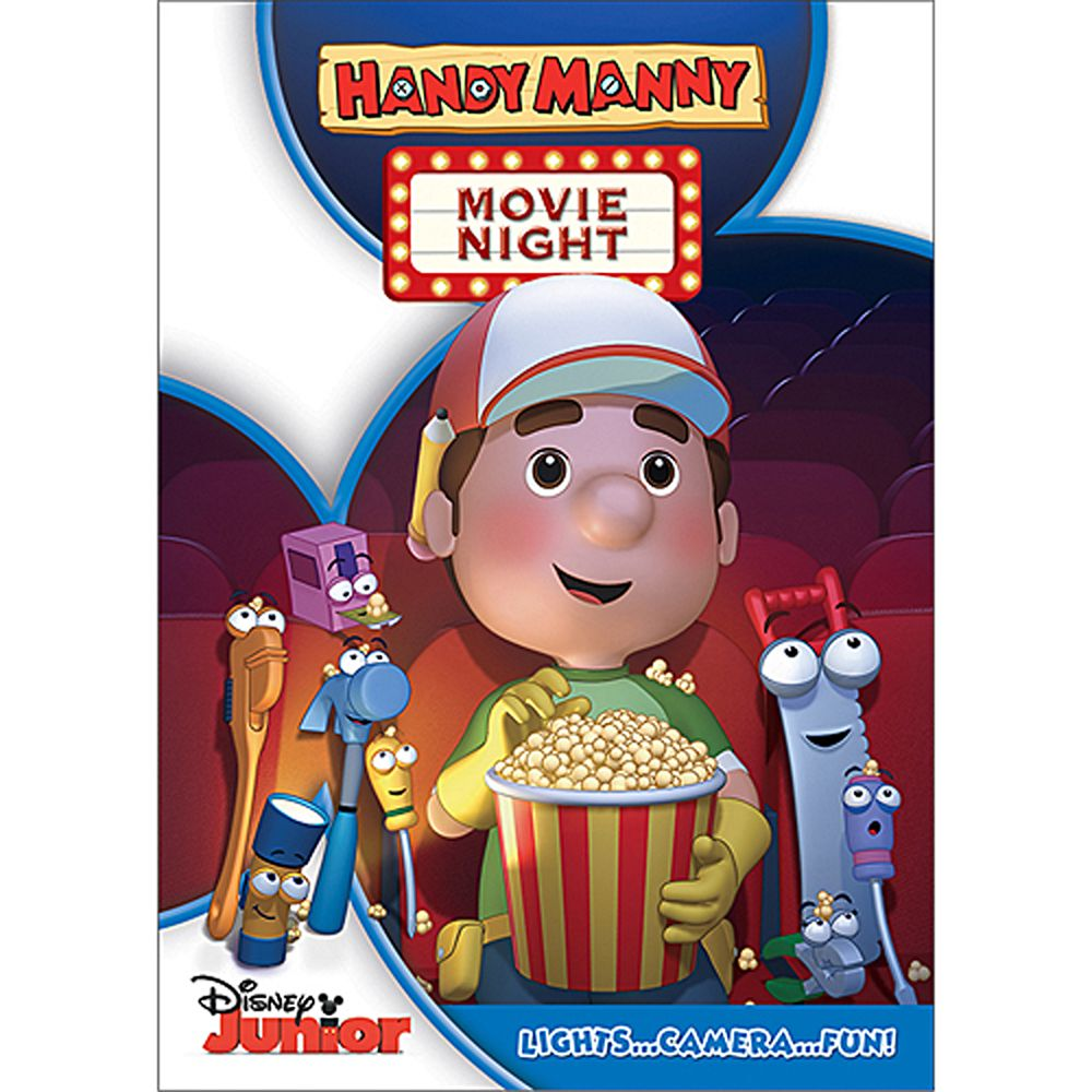 Handy Manny Movie Night DVD