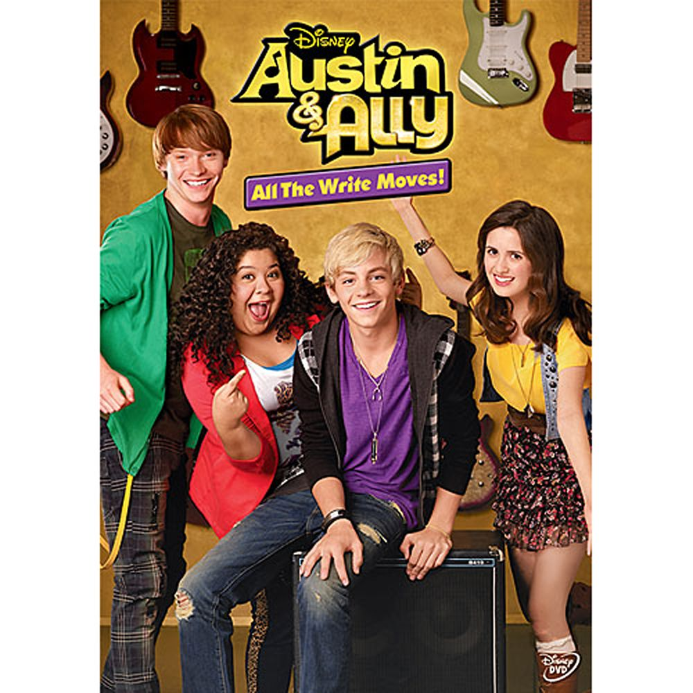 Disney Austin & Ally: All The Write Moves! DVD