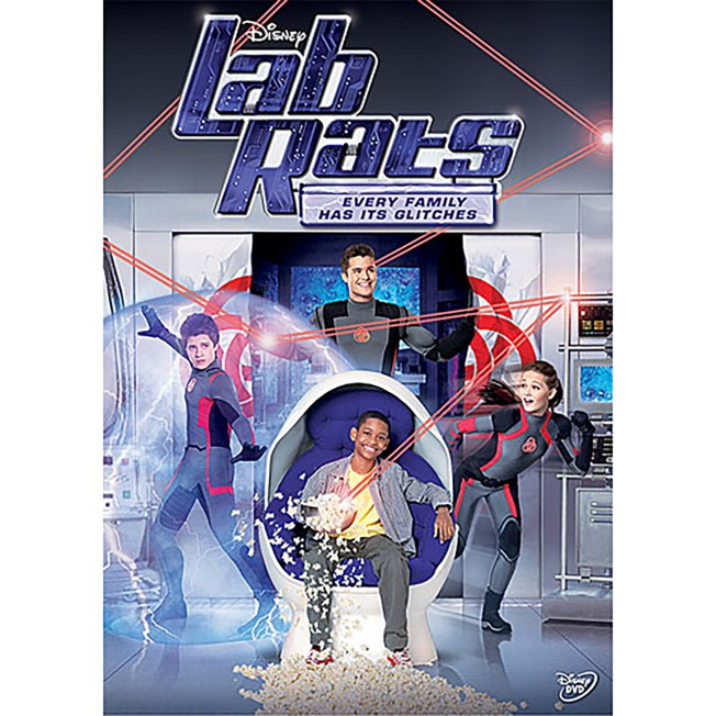 Lab Rat: Every Family Has Its Glitches DVD