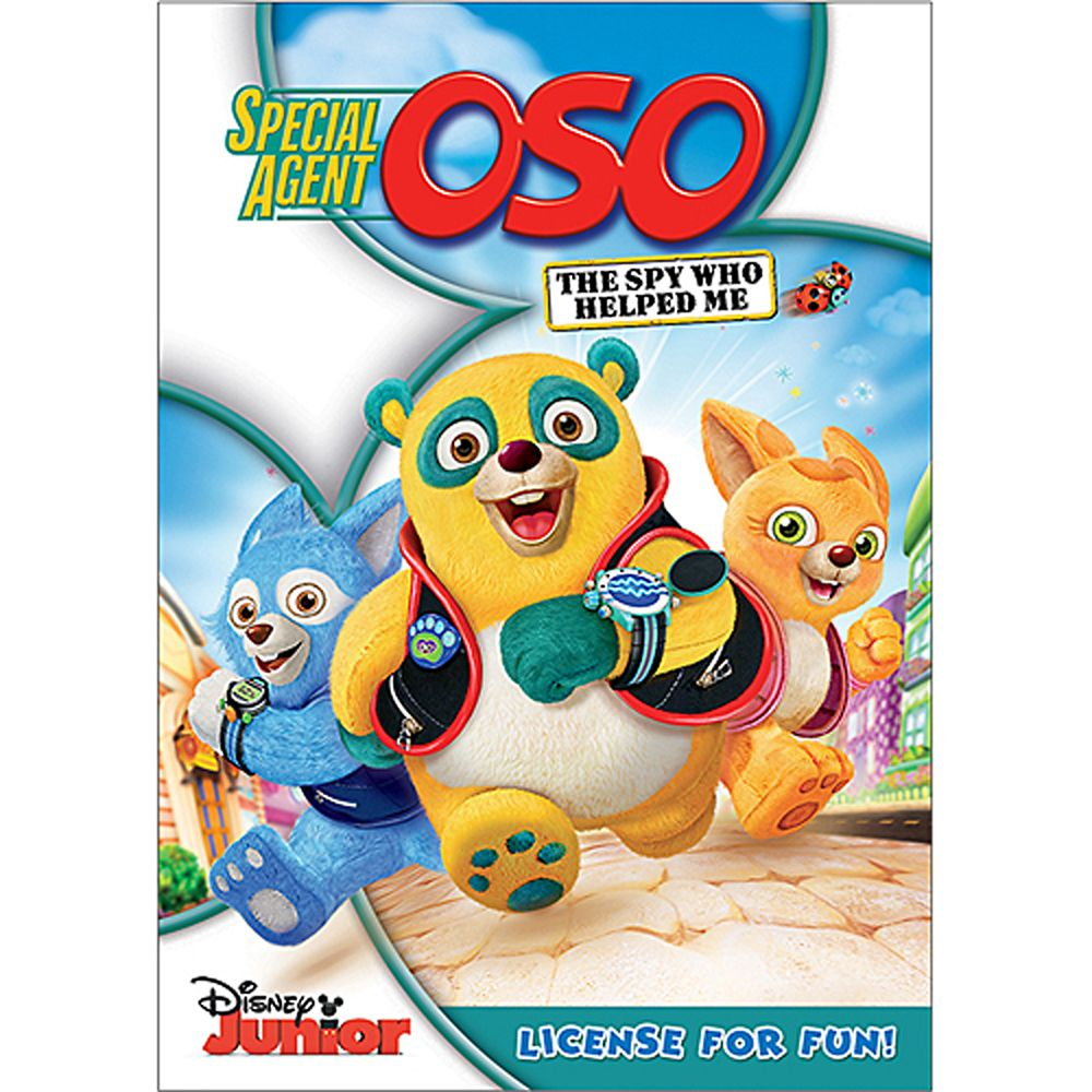 Special Agent Oso: The Spy Who Helped Me DVD